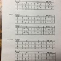 第1回フレッシュ岡崎対戦表