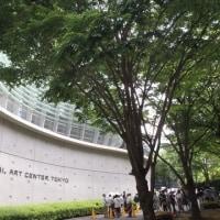 新国立美術館の裏側
