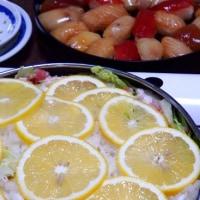 島寿司と八丈フルーツレモン鍋