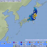 福島県に津波警報発令