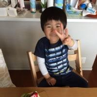 祝!長男3 歳!!