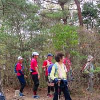 21 中山連山(478m:兵庫県宝塚市)縦走登山(続き)  山頂にて昼食