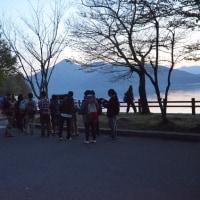 春の中禅寺湖畔ナイトハイキング実施報告