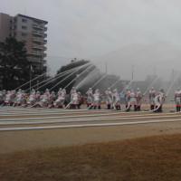 豊中市の出初式に参列