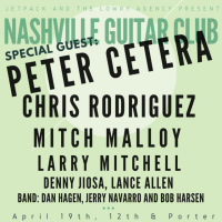Peter Cetera Played for the Nashville Guitar Club's event