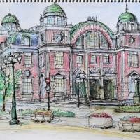 「大阪市中央公会堂」F6 アクリル