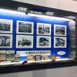 7月の福ビル1F写真は「にしてつ電車・バスで活躍する女性乗務員の歴史」です。
