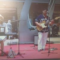 6月17日(土)大和駅前、古民具骨董市ライブ