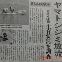 諏訪湖浄化