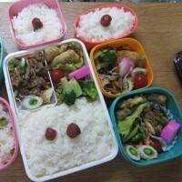 筍の天ぷら弁当