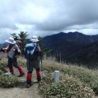 四国の落合峠から矢筈山そして烏帽子山へ