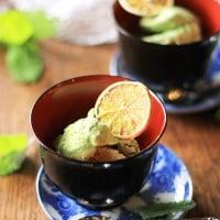 抹茶アイスの季節です。