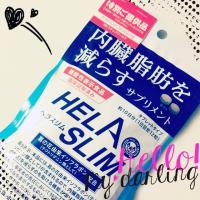 内臓脂肪(お腹の脂肪)を減らすのを助けるサプリメント ヘラスリム ①