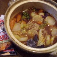 本日のなべ:キムチ鍋