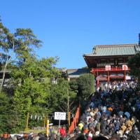 鎌倉を知る ーー 初詣 ーー
