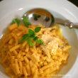 トリュフ風味のチーズパスタ