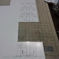 キハ40の工作(紙3)