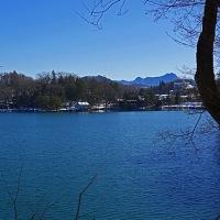 長野県小海町の高原へ-16~雪景色の松原湖巡り<4> 猪名湖 ②