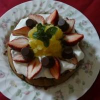 バースデーケーキ~フルーツたっぷり・チョコレートケーキ