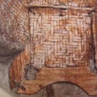 <奈文研藤原宮跡資料室> 速報展「弥生時代の脚付き編みかご」