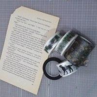 マスキングテープの特性(その2)手でちぎることが出来る