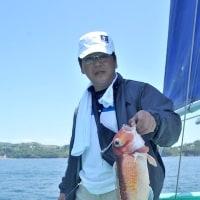 凪ならリレー釣りが面白い