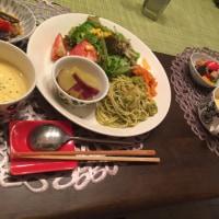 ワンプレートの夕ご飯
