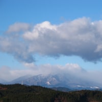 山は吹雪模様・・・・