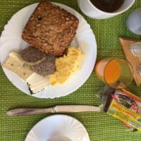 退院から1週間後に海外出張(2) 滞在中の食事
