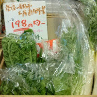 本日の「税込198円農薬を使わない野菜」♪
