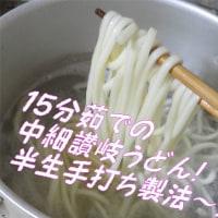 梅雨から夏にかけて「サッパリシャッキリ爽快男のぶっかけうどん」!・・・うめ梅え~の~!