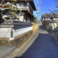 今里神社の前の風景/奈良県大和高田市今里町