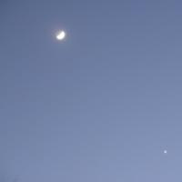 2017年1月3日 月と火星接近