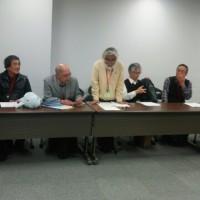 4月21日、防衛省、環境省、外務省、と交渉しました