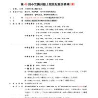 第49回小笠掛川陸上競技記録会大会要項!