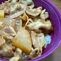 豚バラ大根丼弁当