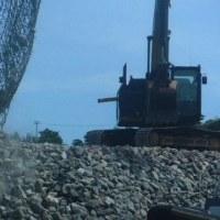 瀬嵩浜集会と捨て石投下への抗議