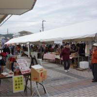 コスモスと井原福祉祭り