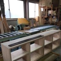 フローリング屋から造作家具屋になるかも・・・