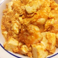 2017年4月24日 カップヌードルナイス  ホッケの一夜干し   筍の漬物   エビチリ豆腐