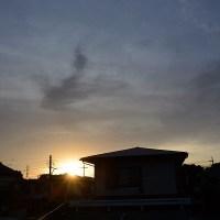 5月24日、午前4時過ぎの空模様