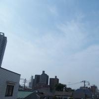 今朝(6月20日)の東京のお天気:晴れ、6月(後半)の作品:寄り添う二人
