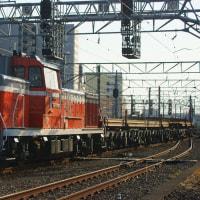 2017年3月22日  越中島支線  新小岩  DE10-1697 レール輸送列車 越中島工臨