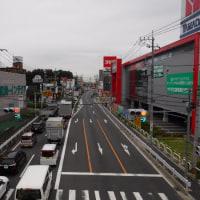 地元の国道沿いの東京電力施設の火災現場は