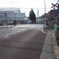 東伏見駅東側踏み切り拡幅ー3月には完成