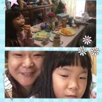 家族で朝食✨♪
