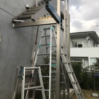 鎌倉で屋上新設工事