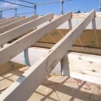 屋根断熱の施工