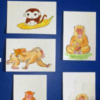 猿を描く(その3)
