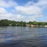 ワカマー川のクルージング